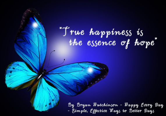 happiness butterfly