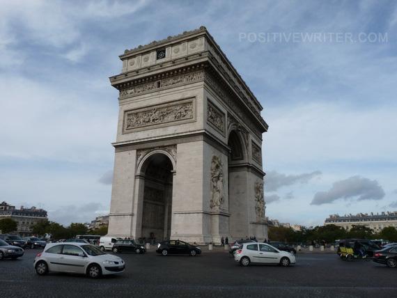 Arc De Triomphe. Photo by Bryan Hutchinson