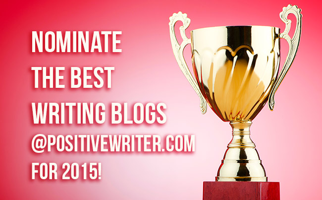 Nominate your favorite writing blog for 2015!