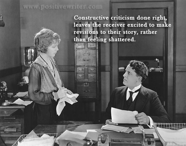 How to Give Constructive Writing Criticism