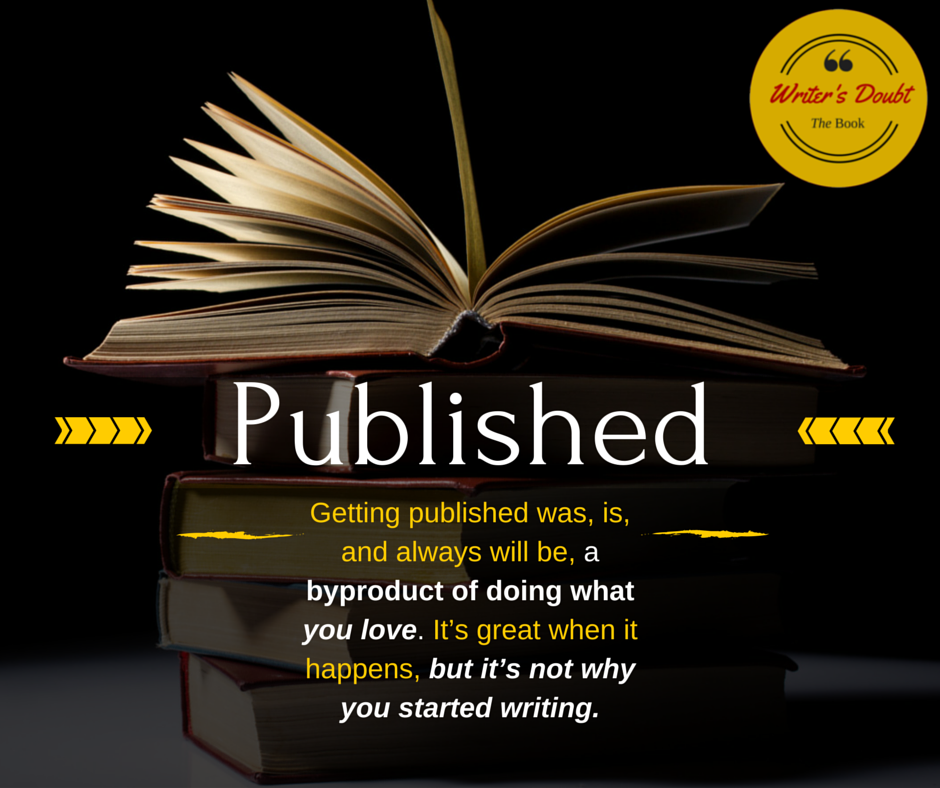 Get your writing published.
