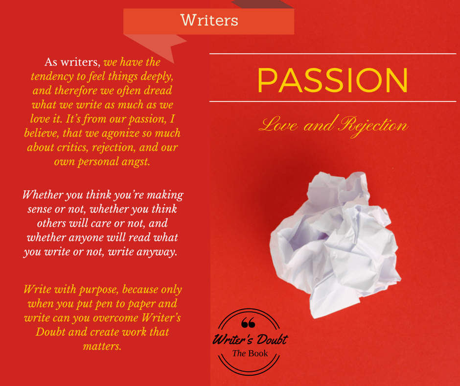 Writer LOVE Passion