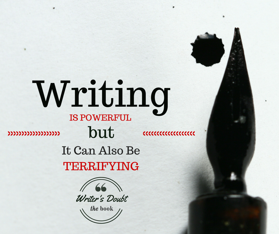 Writing is powerful,