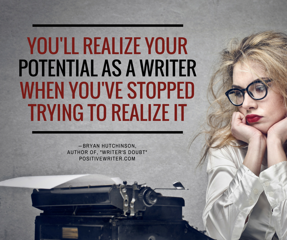 Realize your potential as a writer.