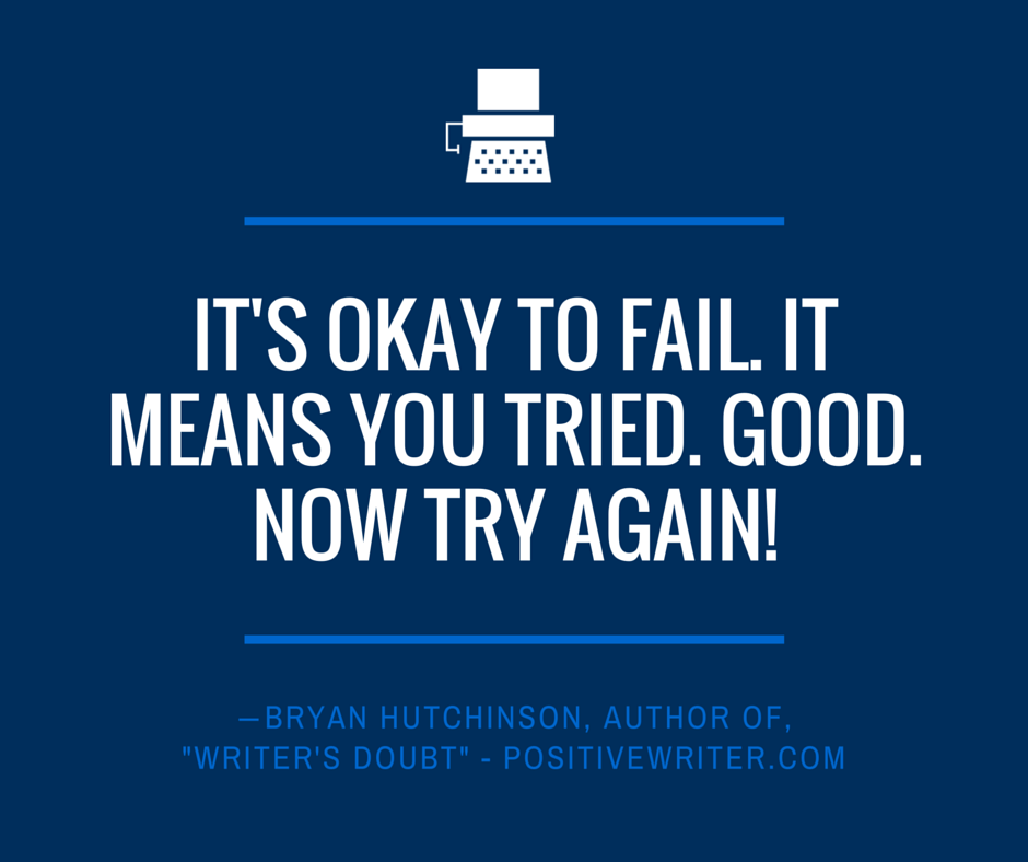It's okay to fail.