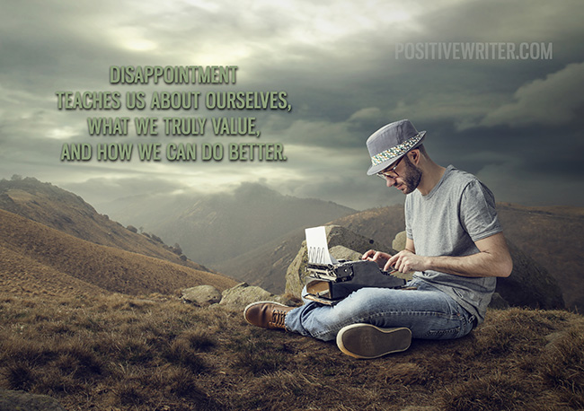 disappointment-writing