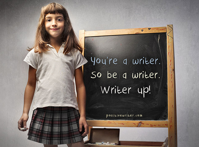 36 Writing Tips to Put Your Butt in the Chair | Positive Writer
